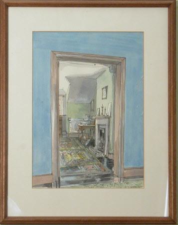 Servant's Bedroom, Servants Quarters, Lanhydrock House, Cornwall