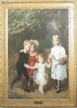 The Four Elder Agar-Robartes Children