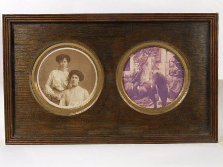 The Hon. Julia Caroline Everilda Agar-Robartes (1880-1969) with a companion and The Hon.Thomas ...