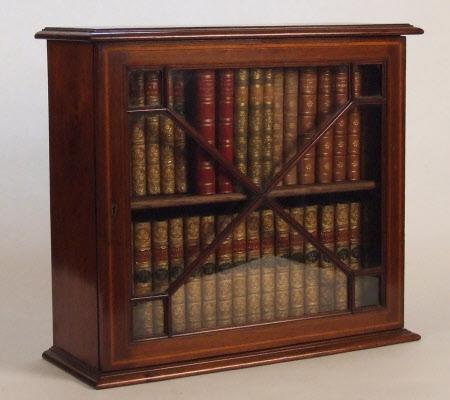 Miniature bookcase