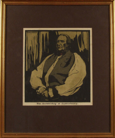 Frederick Temple, (1821-1902), Archbishop of Canterbury (from the set Twelve Portraits, First ...