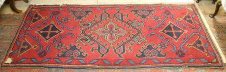 Pile rug