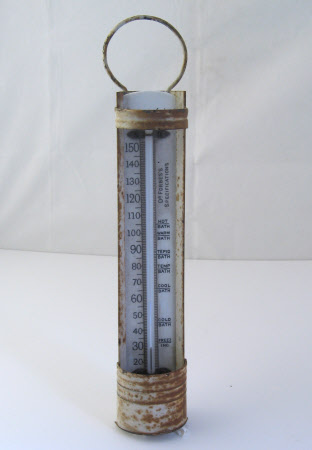 Bath water thermometer
