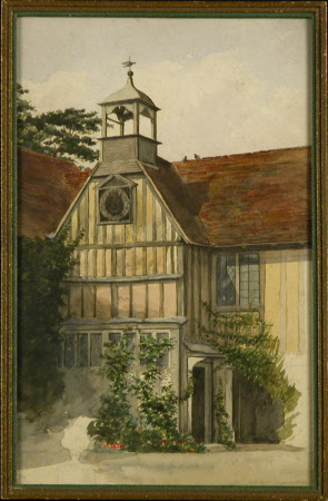 Clock Tower, Ightham Mote, Kent