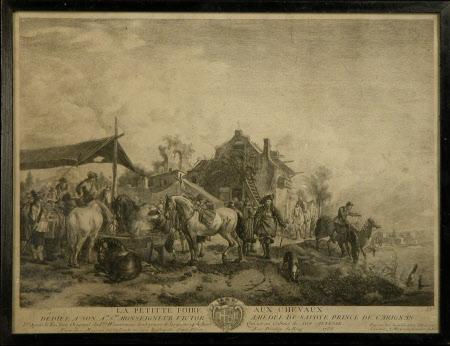 A Horse Fair (La Petitte Foire aux Chevaux) (after Philips Wouwerman)