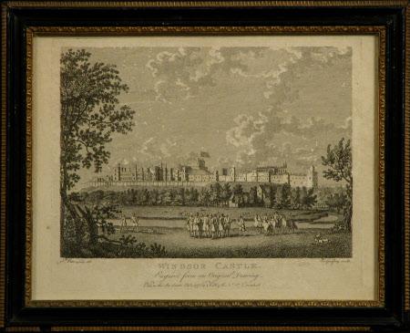 Windsor Castle, (after Sir Peter Lely)