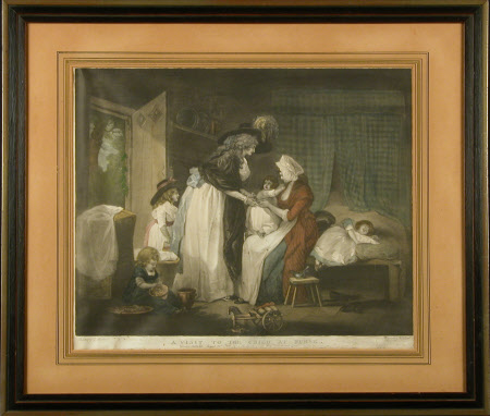 A Visit to the Child at Nurse (after George Morland)