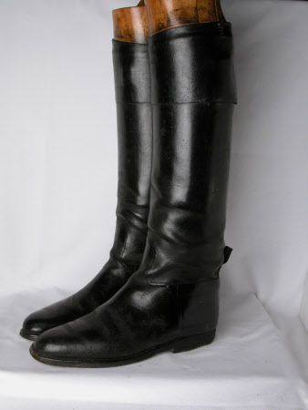 Man's riding boot