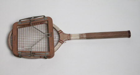 Tennis racquet press