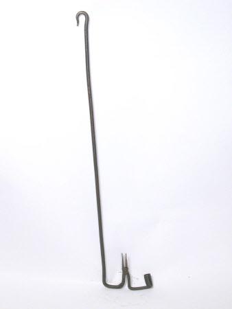 Rush light holder