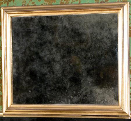 Overmantel mirror