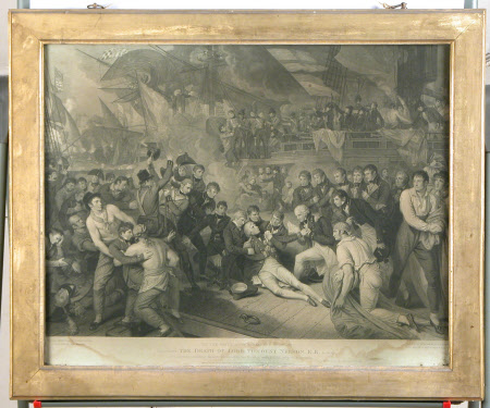 Death of Horatio Nelson, 1st Viscount Nelson (1758-1805) (after Benjamin West PRA)