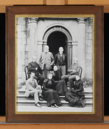 The staff at Wallington in 1890