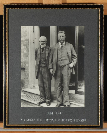 Sir George Otto Trevelyan, 2nd Bt (1838-1928) with Theodore Roosevelt (1858-1919) 26th President of ...