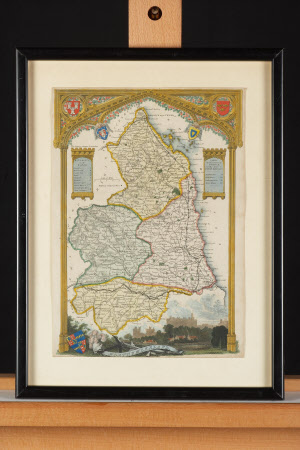 Map of Northumberland