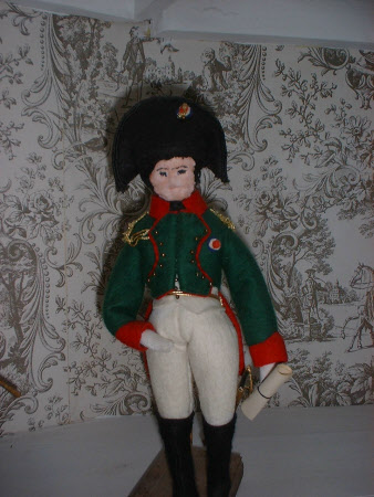 Doll dressed as Emperor Napoleon I, Emperor of France (1769–1821)