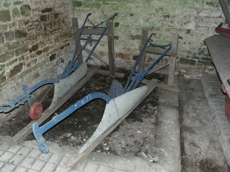 Drill plough