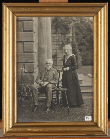 Sir George Otto Trevelyan, 2nd Bt, MP (1838-1928) and Caroline Philips, Lady Trevelyan (1849-1928) ...