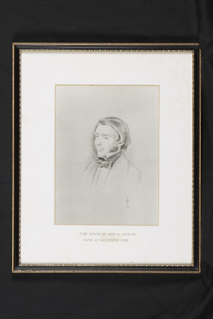 John Ruskin (1819-1900) by John Everett Millais