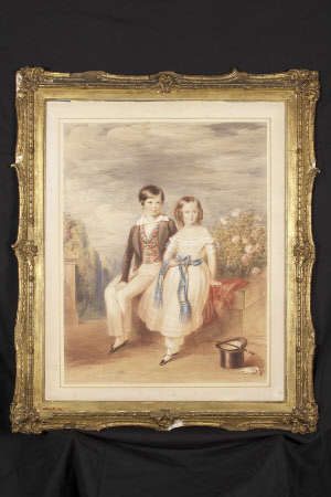 Sir George Otto Trevelyan, 2nd Baronet (1838-1928) and his sister Margaret Jean Trevelyan, later ...