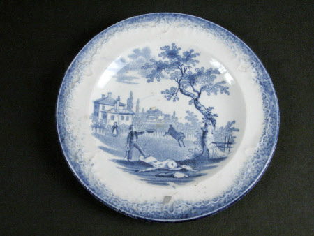 Miniature dinner plate
