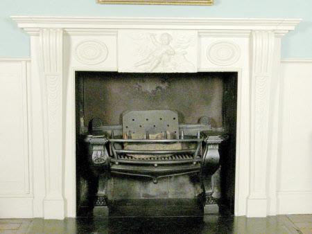 Chimneypiece, Tenants' Parlour, Attingham Hall