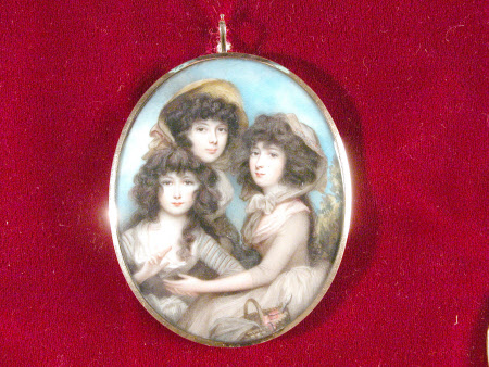 Henrietta Maria Noel-Hill, later Marchioness of Ailesbury (c.1773-1831) and her sisters Anne ...
