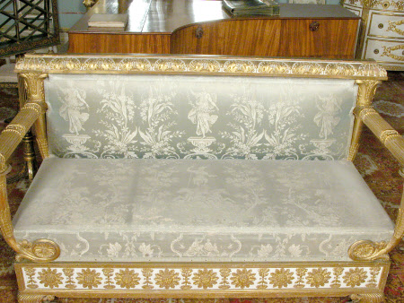 Settee cover
