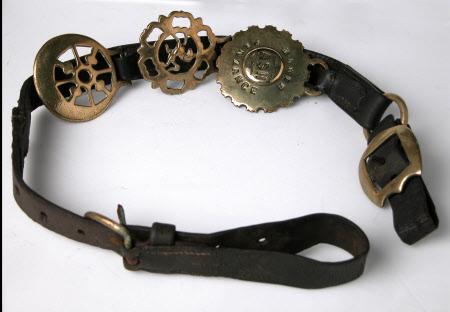 Harness brass