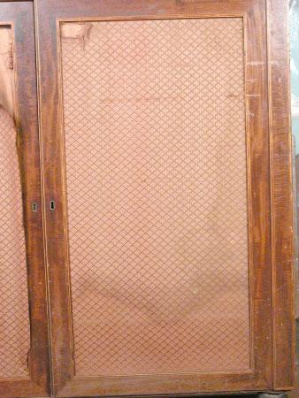 Cupboard door cover