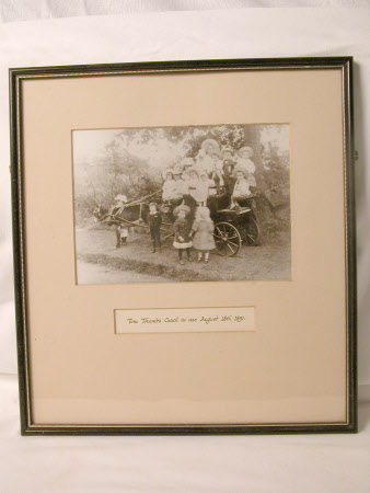 Tom Thumb's Coach in use August 18th 1891