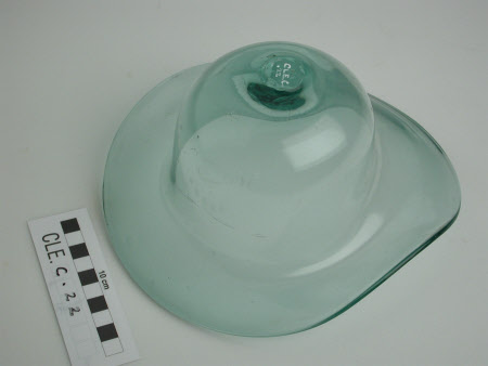Glass bowler hat