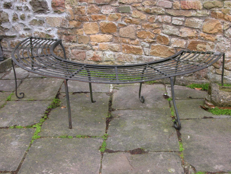 Garden bench part