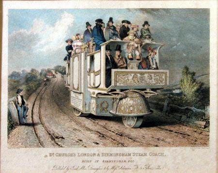 Dr Church's London and Birmingham Steam Coach