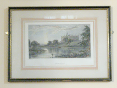 Charlecote Park viewed from the far bank of the River Avon (after Joseph Vincent Barber)
