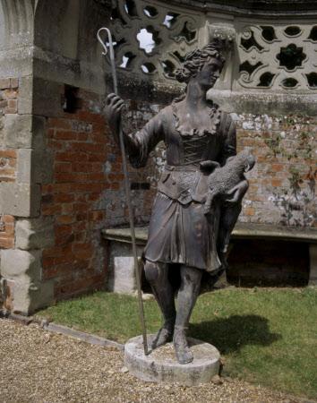 Shepherdess statue
