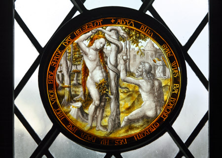 The Temptation: Adam and Eve in the Garden of Eden with the Angel Gabriel