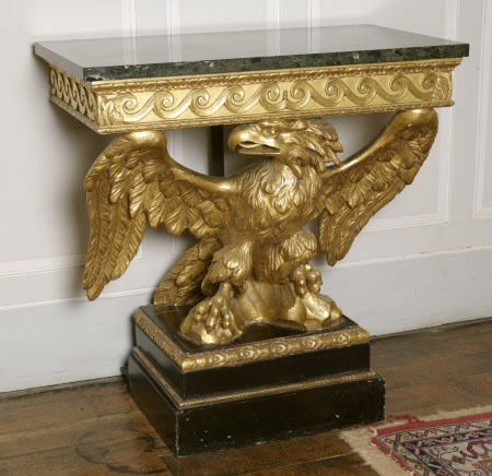 A pair of giltwood Console Tables