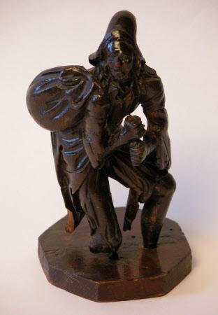 Male beggar
