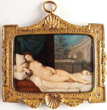 The Venus of Urbino (after Titian)