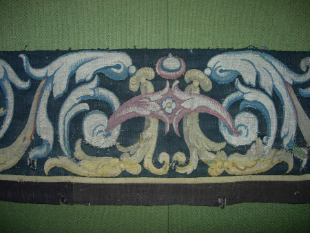 Armorial Sumpter Cloth (fragment)
