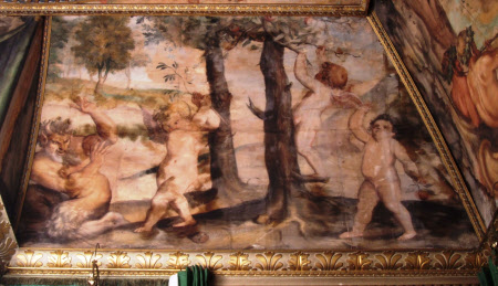 Satyr with Three Putti and a Cupid (after Polidoro da Caravaggio)