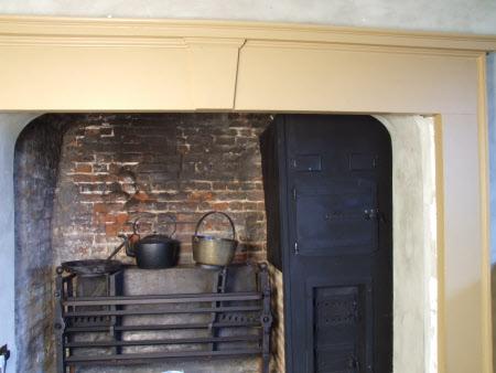Chimneypiece, Kitchen, Ham House