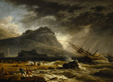 Midday: A Ship Offshore, foundering in a Storm