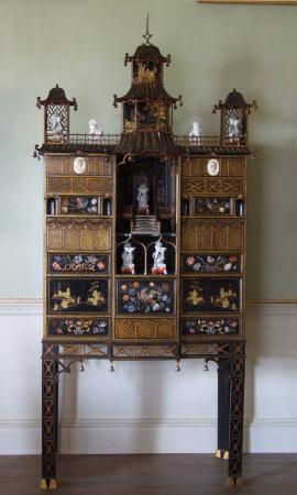 The Uppark Pagoda Cabinet