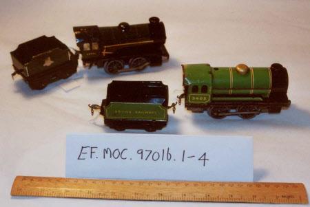 Toy train locomotive
