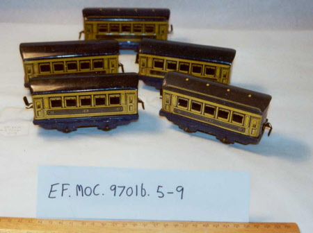 Toy train carriage