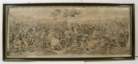 The Emperor Constantine at the Battle for the Milvian Bridge (after Raphael)