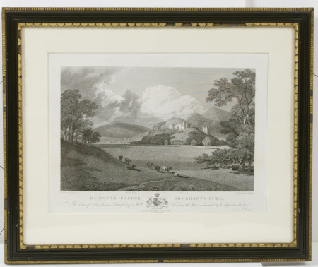 South Front and Park of Dunster Castle and Conigar Hill, Somerset (after Joseph Mallord William ...