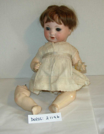 Bisque-headed doll
